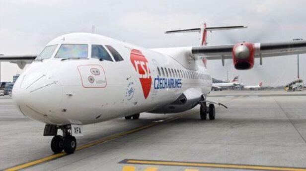Samolot typu ATR / fot. Czech Airlines