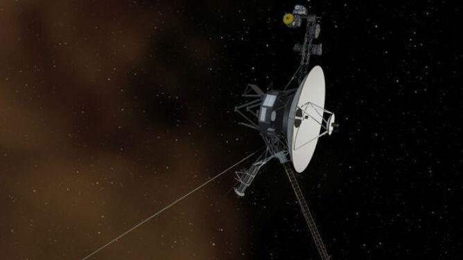 Słoneczne tsunami uderzyło w Voyagera. Pozwoliło to określić położenie sondy