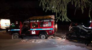 Ratownicy uratowali samotnego turystę