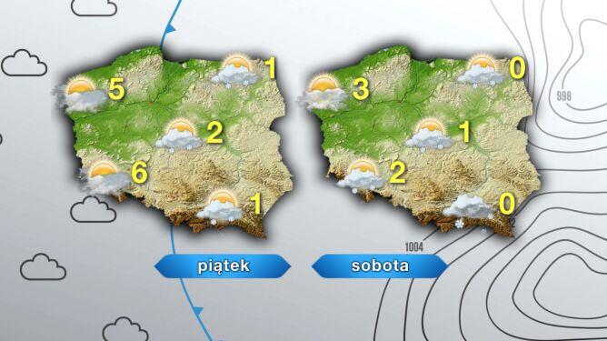 Pogoda na piątek i sobotę