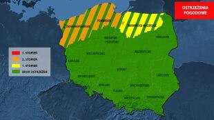 IMGW ostrzega przed wysokim stanem Bałtyku. Wody są powyżej stanów ostrzegawczych