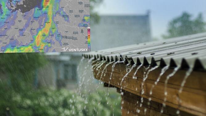 Pogoda na 5 dni: dużo opadów i gwałtownych zjawisk. Miejscami bardzo ciepło