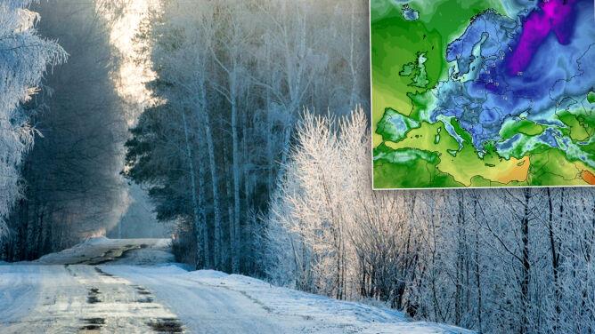 Napłynęło arktyczne powietrze. W Moskwie było cieplej niż na północnym wschodzie Polski