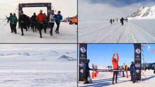 Lodowy maraton, gorąca atmosfera. Polacy biegali na Antarktydzie