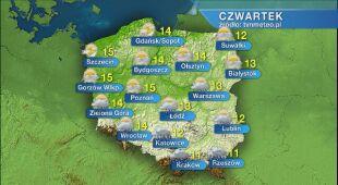 Pogoda na czwartek 14.05